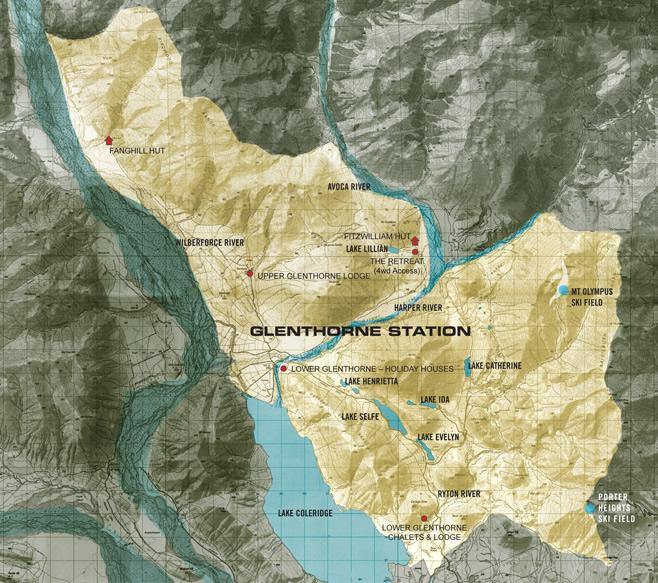Glenthorne Map
